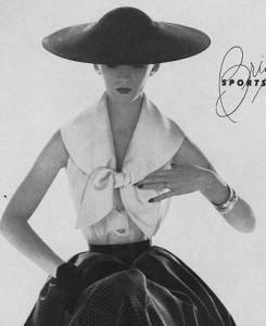 Dovima 1950s model