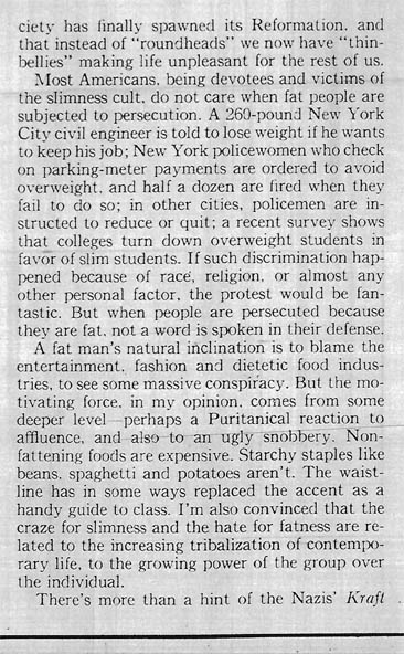 More People Should Be Fat - column 2